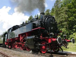 Ein Zug der historischen Sauschwänzlebahn. Foto: Rolf Haid/Archiv
