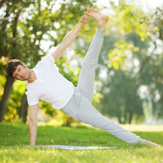 yoga entspannung meditation am land