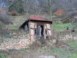 Schlossberghütte nach anfänglicher Sicherung