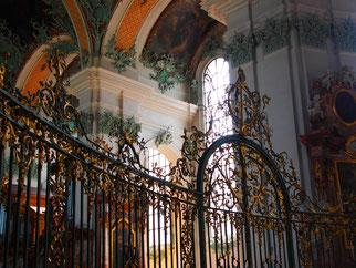 In der Stiftkirche UNESCO - Weltkulturerbe