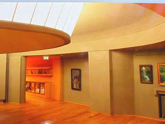 helle Museumsräume
