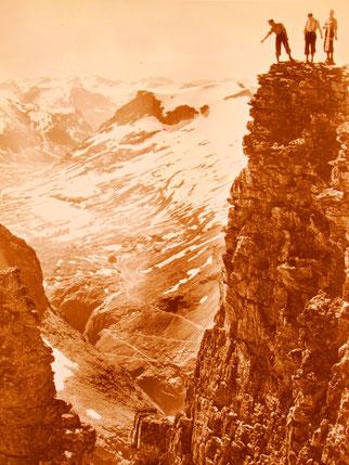 historisches Bild der Trollstigen