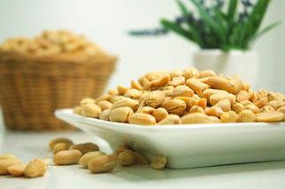 Erdnüsse Schale