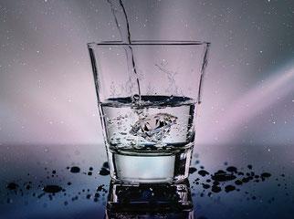 Wasserglas Trinkwasser