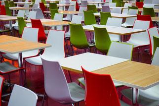 Mensa Stühle Tische