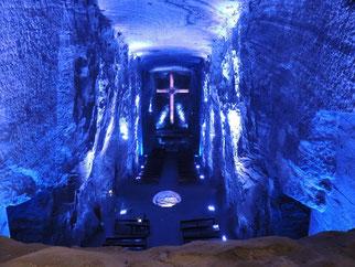 cathédrale de sel Zipaquira