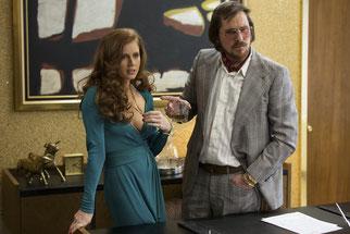 Amy Adam et Christian Bale sont bluffants (©Christian Duhamel/Columbia Pictures/Metropolitan FilmExport)