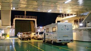 Il traghetto da Valbiska a Merag