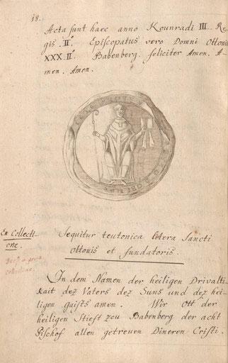 Provinzialbibliothek Amberg: Codex Traditionum Ensdorfensis, S. 18.