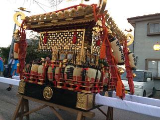 佐倉の秋祭り 大神輿写真
