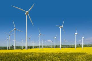 geplante Windkraftanlage in der Nähe von Eschweiler-Lohn