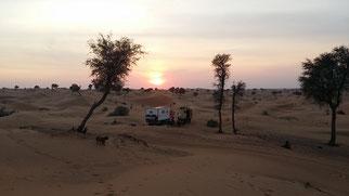 Campen mit der Lasterliebe-Crew