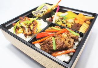 国産鰻と牛焼肉「極」弁当