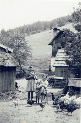Frechhof in den 30er