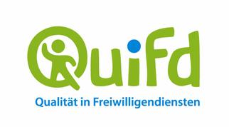 Das Logo von Quifd, Qualität in Freiwilligendiensten