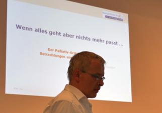 Vortrag Herr Dr. Löns, Palliativmediziner