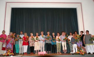 Auftritt ehrenamtliche Mitarbeiter der Hospizgruppe