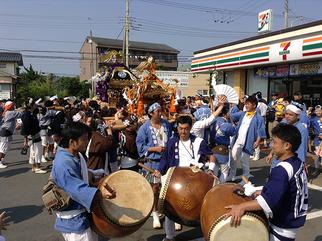 平成28年 7月17日(日):平松岡 八幡神社例大祭
