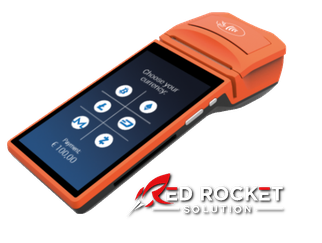 Mobiles POS System Terminal von Red Rocket Solution
