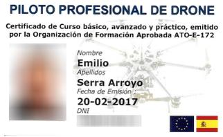Piloto profesional de drones Canarias