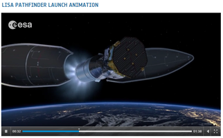 LISA Pathfinder Launch Animation. Film: ESA - Space In Videos 2015