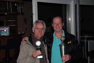 Manfred (2.Sieger) und Wolfgang (Vereinsmeister 2015)