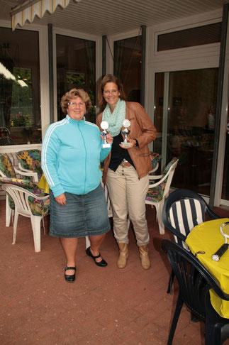Birgit und Simone 2.Sieger Damen Doppel