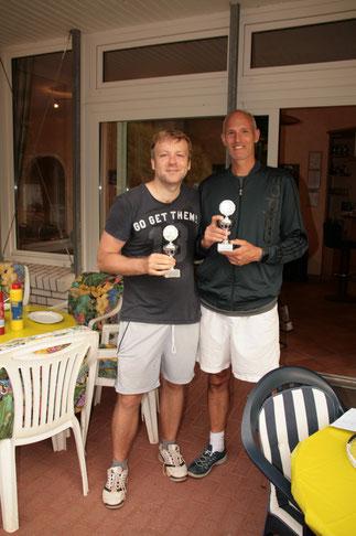 Johannes und Pitt - 2. Sieger Herren Doppel