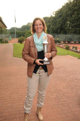 Simone - Vereinsmeisterin Damen 2015