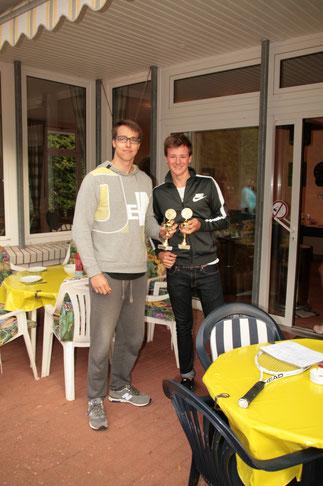 Lennard und Jaris - Vereinsmeister Herren Doppel