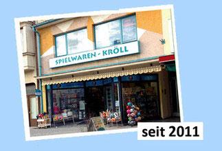 Spielwaren-Kröll - 2011 - Neuer Eingangsbereich