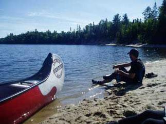 Rabaska sur lac
