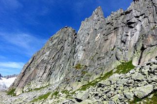 Mehrseillängen Klettern Göscheneralp Salbit Westgrat