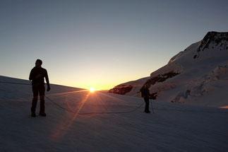 mountaineering climbing Piz Palü