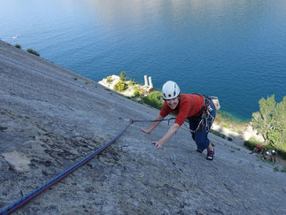 sports climbing basic course Arco