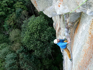 climbing in Ticino, climbing coaching course