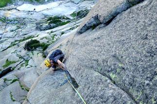 climbing Grimsel Sagittarius