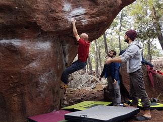 Coaching Luzern Bouldern und Klettern