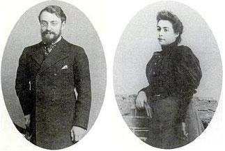 アンリ・マティスとアメリー・パレイル