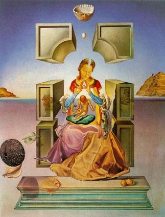 「ポルト・リガトの聖母」1949年 マーケット大学博物館所蔵