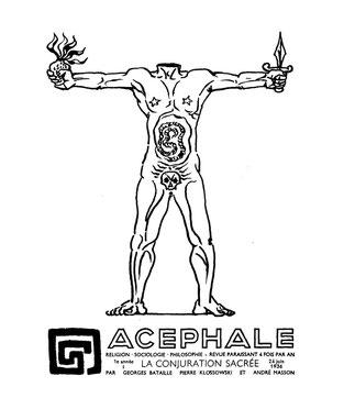 バタイユが発行していたざ『Acéphale』