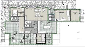 Дом Хонка 583 кв.м. Цокольный этаж.