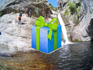 bon cadeau canyoning au canyon du Llech