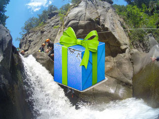 bon cadeau canyoning molitg les bains