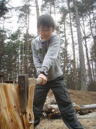小学校5年生 山梨キャンプ