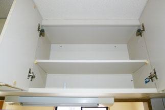 キッチン上側イケア製ブルムダンパー