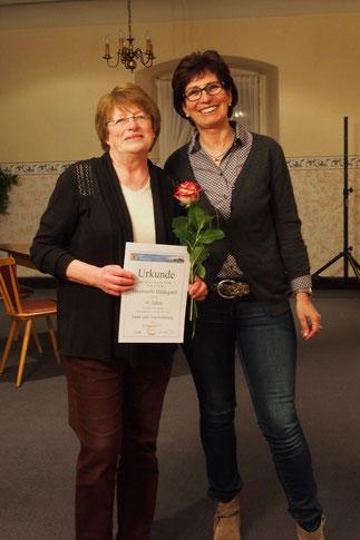 v. l. n. r. Hildegard Hämmerle, Marianne Späth