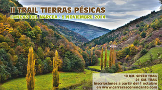 II TRAIL TIERRAS PÉSICAS- Cangas del Narcea, 09-11-2014