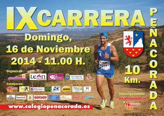IX CARRERA PEÑACORADA - Colegio Peñacorada, 16-11-2014