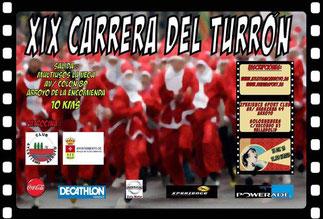 XIX CARRERA DEL TURRON - Arroyo de la Encomienda, 13-12-2015